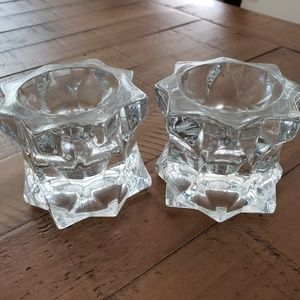 Other - Crystal Candle Holders